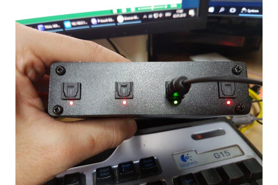 Automatic SPDIF (Optical/RCA) Audio Switch