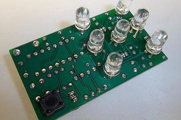 Electronic Shaky Dice Kit (#2062)
