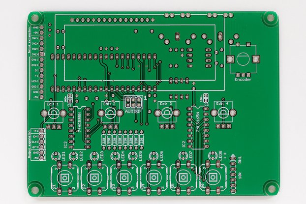 Shruthi Digital Control Board PCB