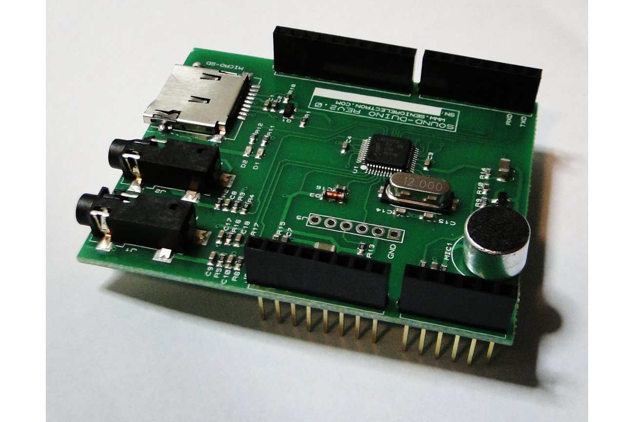 SoundDuino , Audio Shield for Arduino