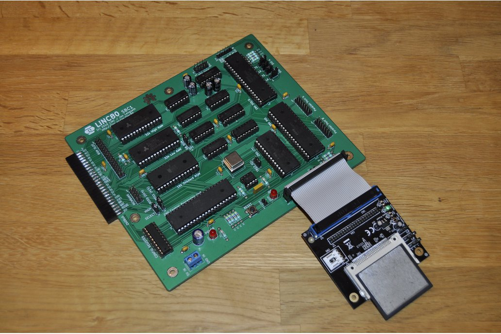 LiNC80 SBC1 - Homebrew Z80 Computer Kit 1