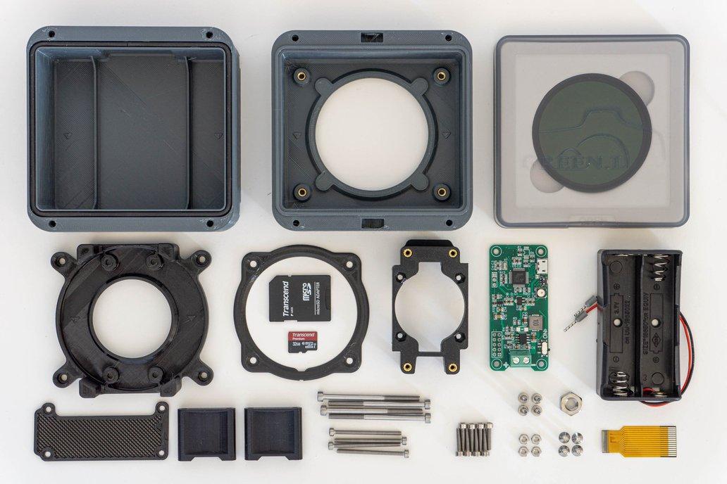 Digital Solargraphy Camera Kit 1