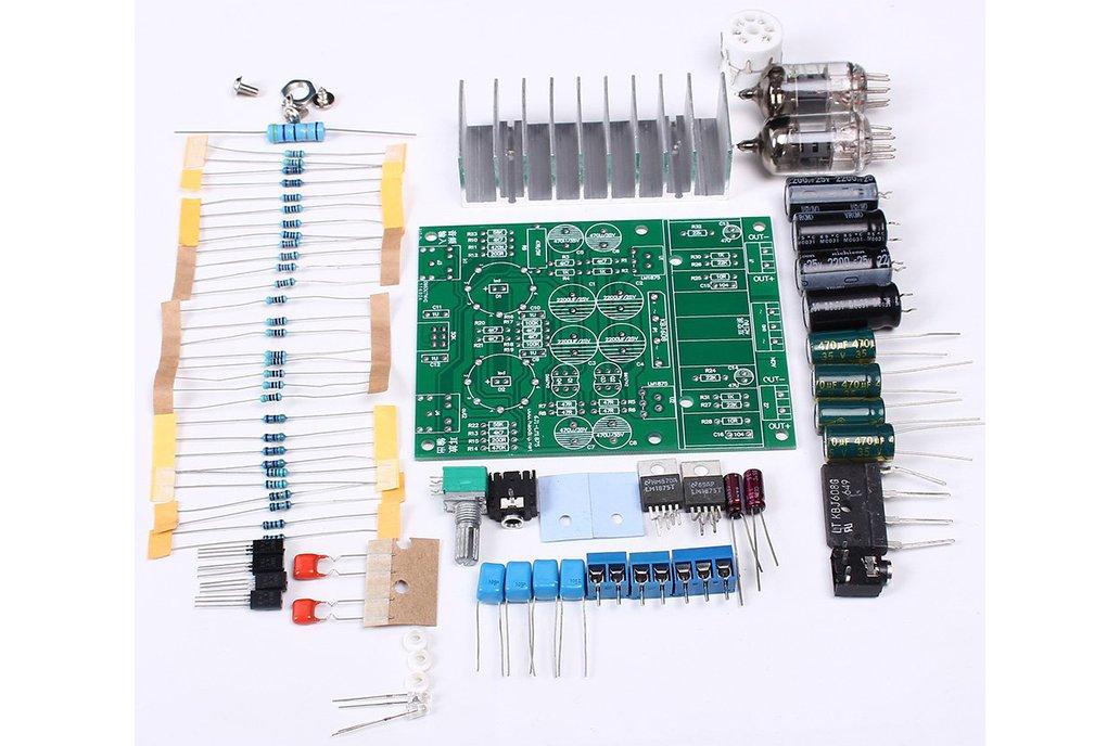 DIY Hybrid Power Amplifier Board LM1875T(12008) 3