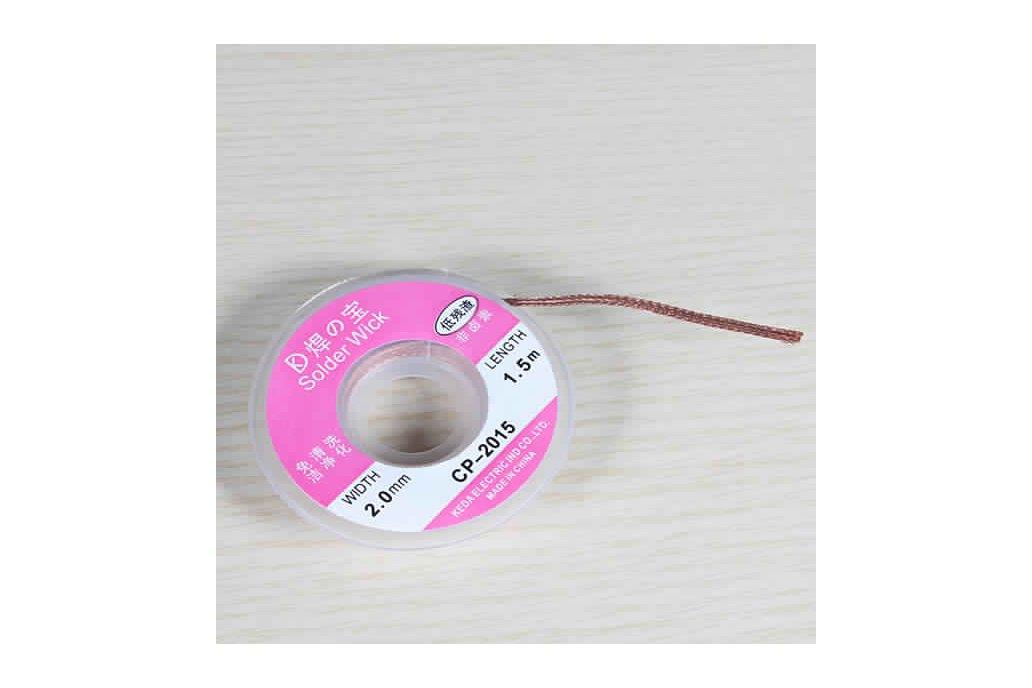 2.0mm 1m Desoldering Braid Solder 2