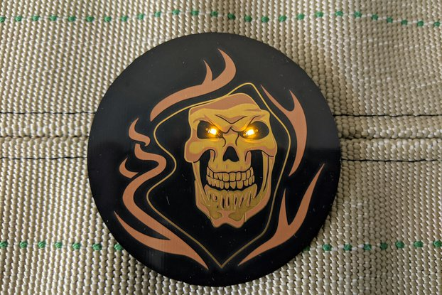 Grim Reaper Halloween Pin