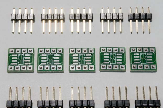 SMD SOIC8 to DIP adaptor