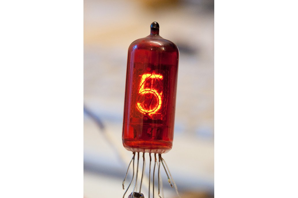 Set of 6 pcs Z573M Nixie Tube for Nixie Clock 1