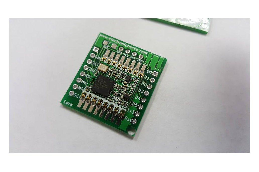 RFM95 LORA Breadboard PCB 1
