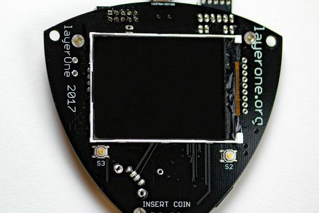 layerOne 2017 Electronic Badge