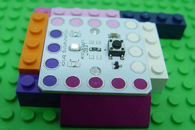 Illuminating LED brick 5x5, learn to solder KIT
