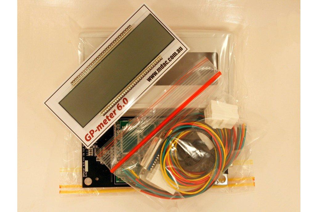 GP-meter 6.0 LSU4.2 Air Fuel Ratio Display Kit 1