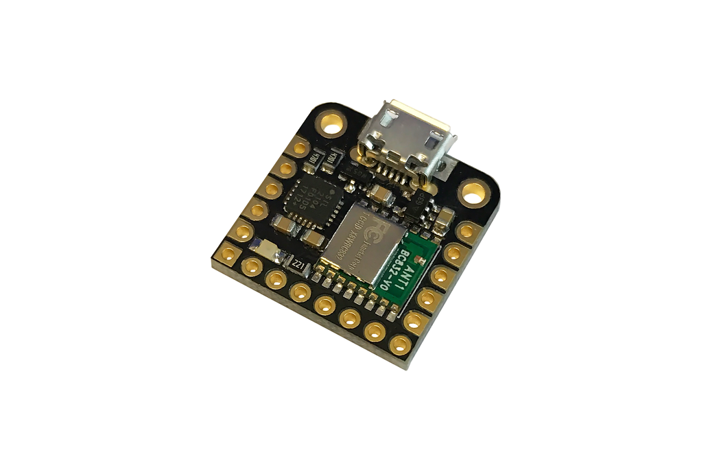 Microcontroller: Arduino-compatible + Built-in BLE 1
