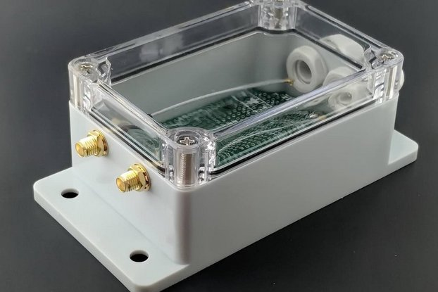 qBox DIY IOT Enclosure Kit (Two SMAs)