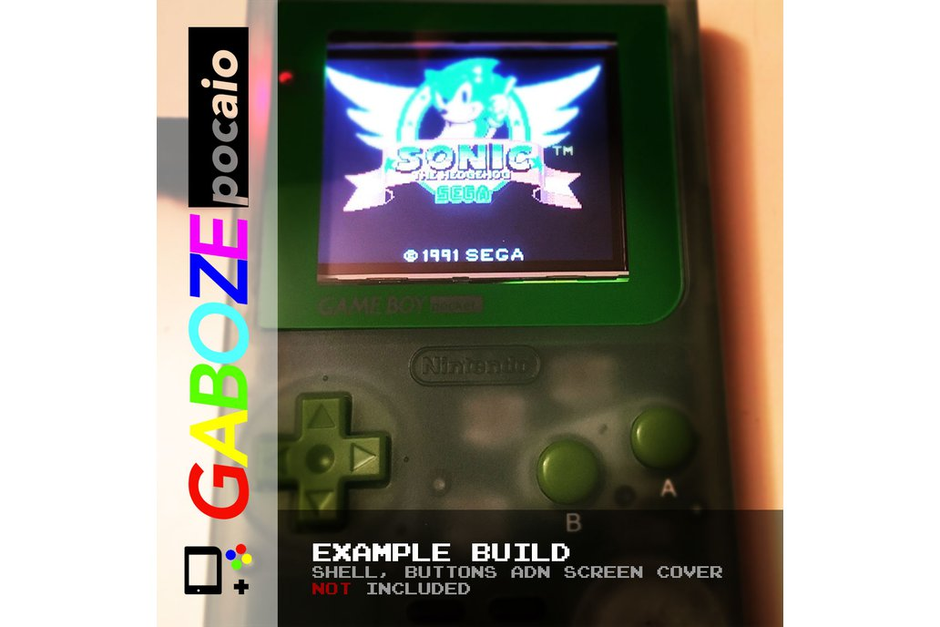 Gaboze Pocaio - Game Boy Pocket All In One 15