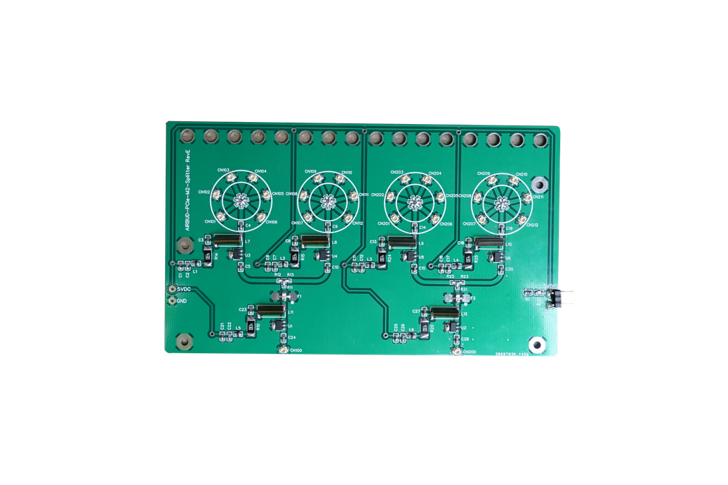 Quad 6-Port Splitter (RX Only) for WiFi and BT 1