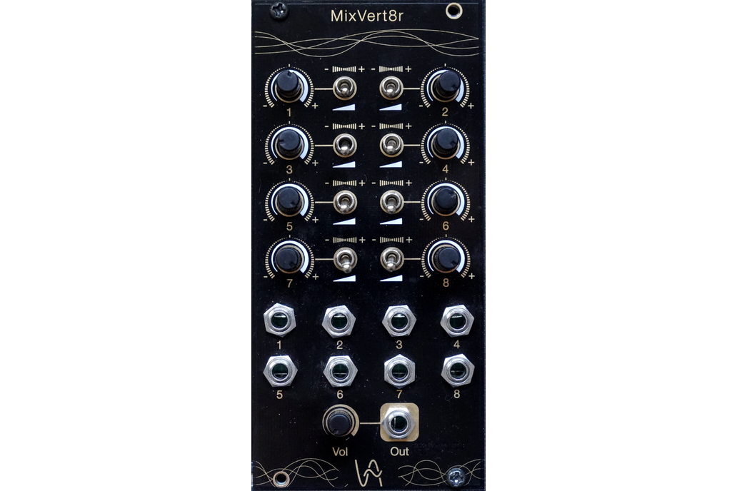 MixVert8r 8-channels Attenuverter mixer 1