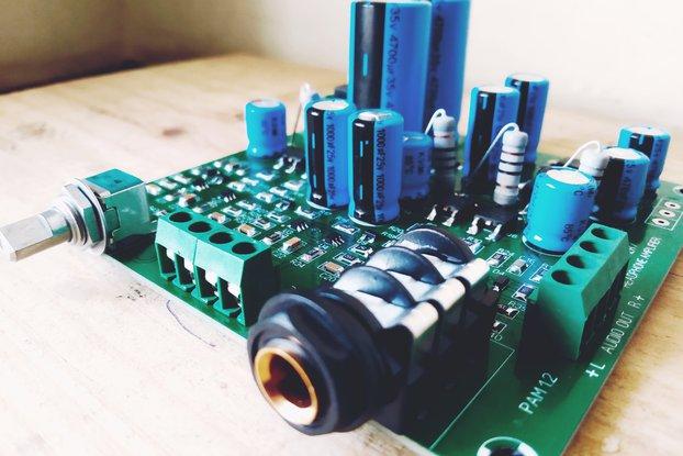Discrete Dynamics DIY Class A Preamp/Headphone amp