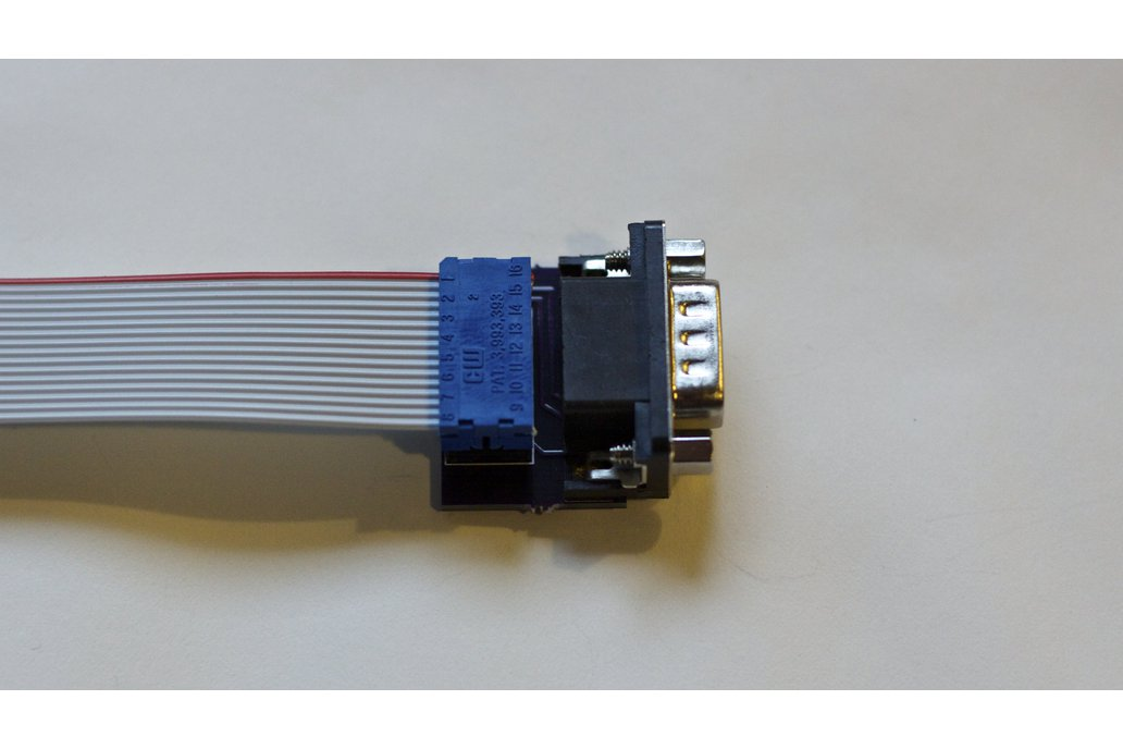 Joystick adapter for Apple IIc 1