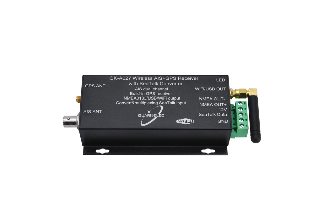 QK-A027 Wireless AIS+GPS Receiver With SeaTalk 2