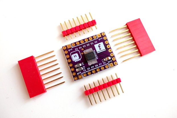 12-channel Analog Shield for D1 Mini