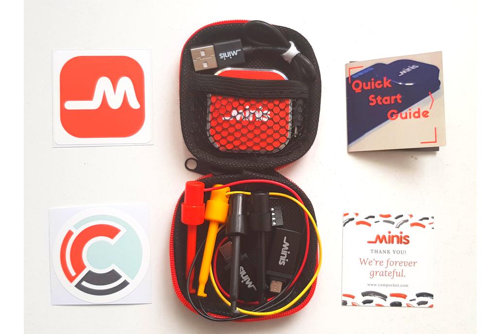 Minis Mobile Portable USB Digital Oscilloscope 1