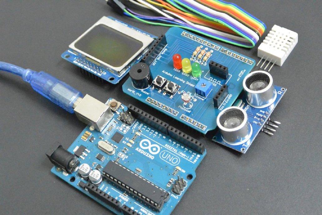 Arduino Learning Shield PCB 1