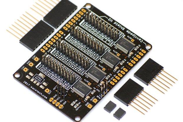 Centipede Shield V2 64-I/O Expander