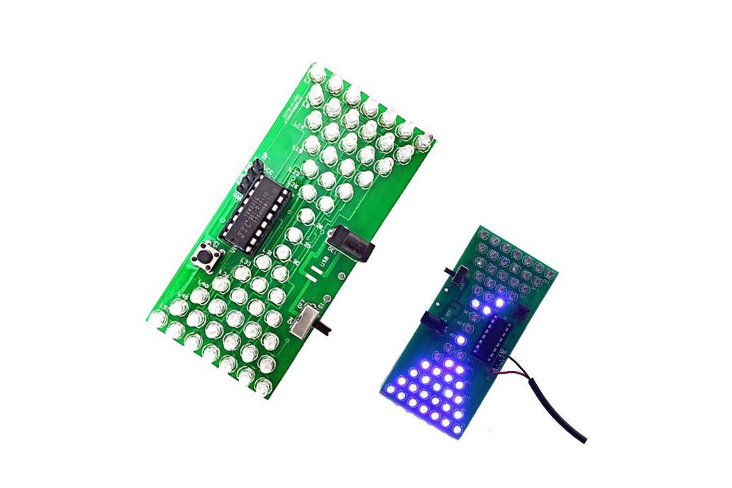 Electronic Hourglass DIY Kit with LED Lamps(12309) 1