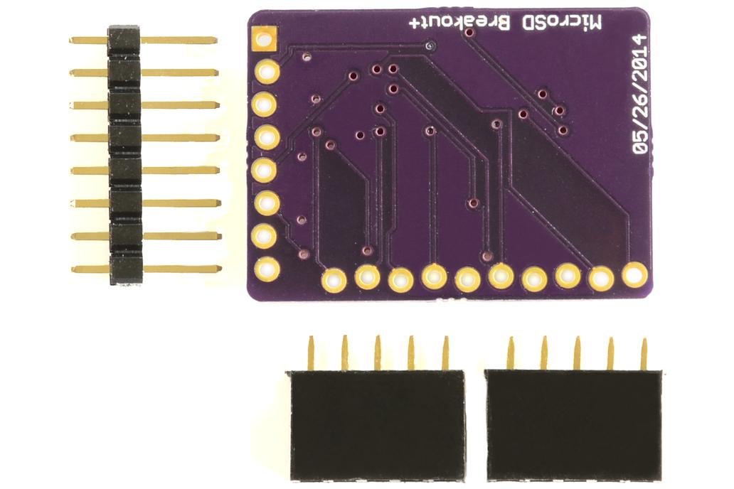 MicroSD Breakout+ 2