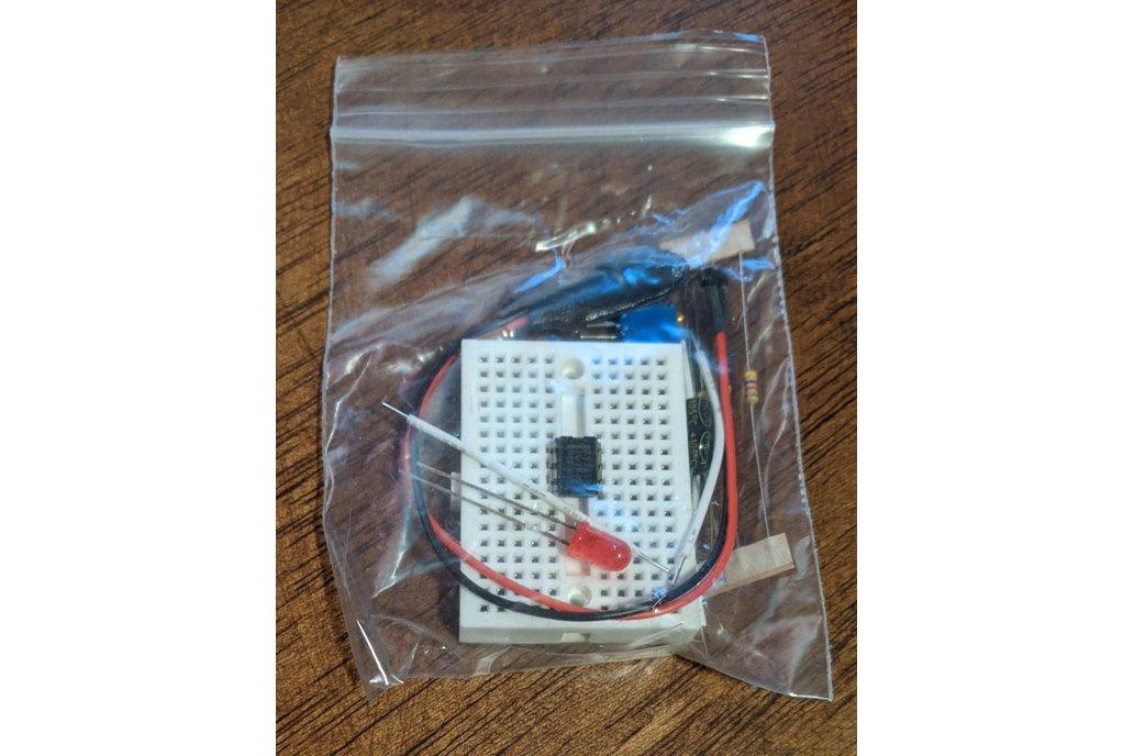 555 Breadboard Timer Kit 1