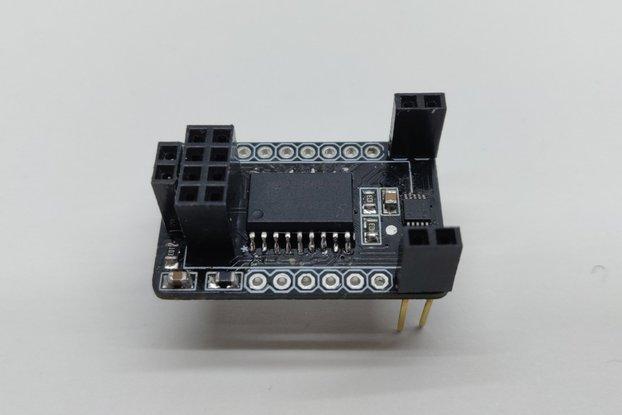 ESP8266-01  -  4 ch. ADC + 8 GPIO expander