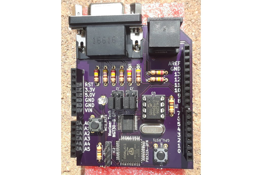 Desktop Shield for Arduino NGT30 VGA and Keyboard 3