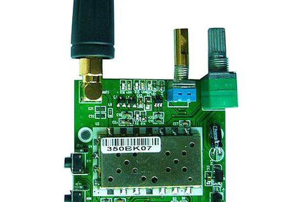 FRS_DEMO_B demo board (for 1W350 UHF module)
