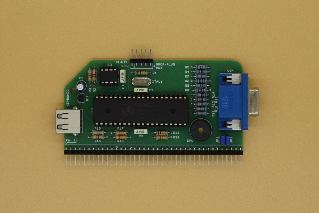 VGA Serial Terminal PCB for RC2014 2