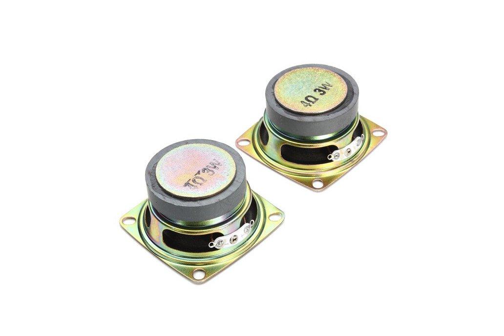 LED Flashing Music Spectrum & DIY Amp Speaker Kit 8