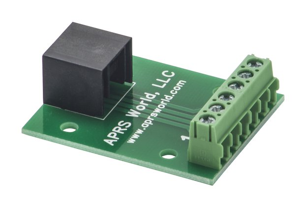 RJ-25 (6P6C) breakout board to screw terminals