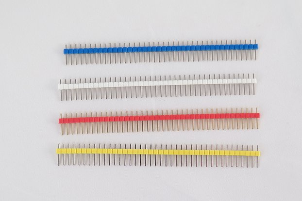 Pack of 10 color 40 pin male header