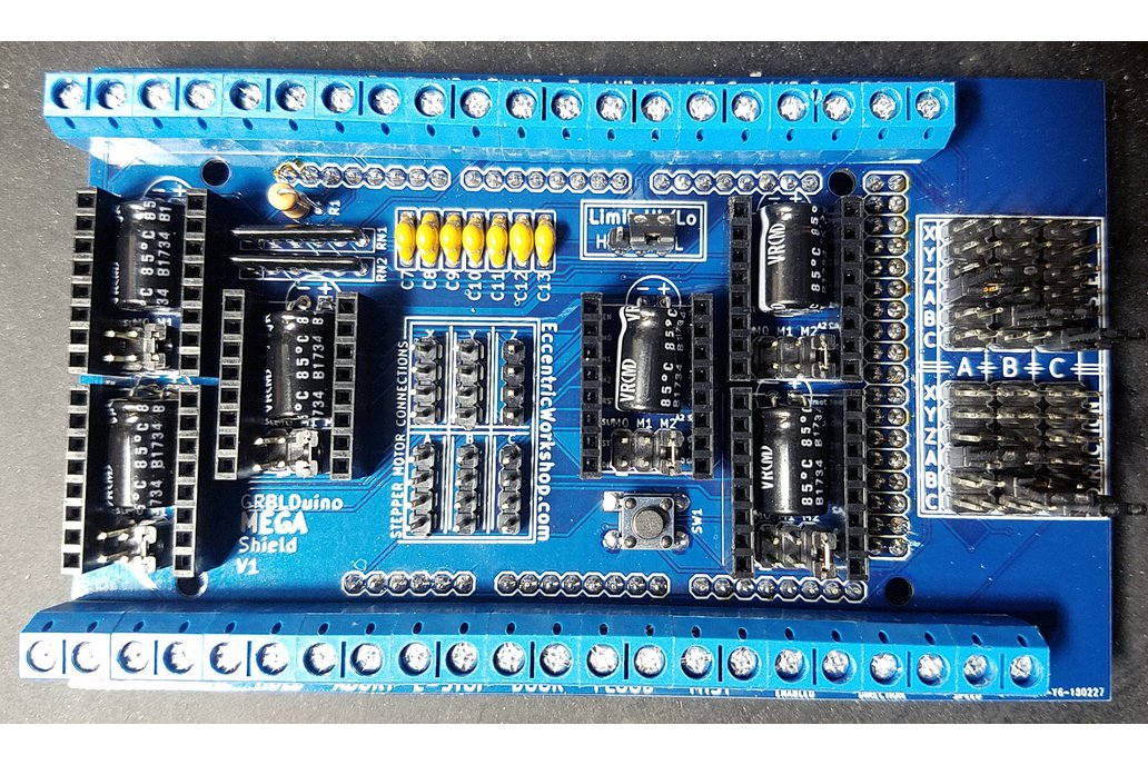 GRBLDuino Mega Shield-GRBL 1.1 Arduino CNC Shield 2