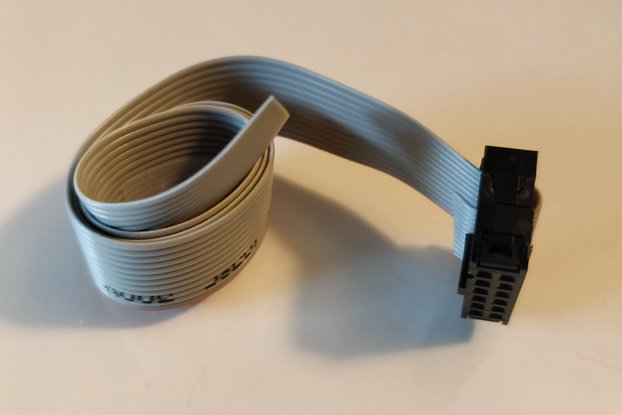 Ribbon cable 30cm for YellowHat Button connector