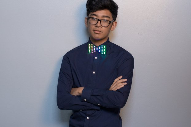 Chroma Wear RGB Bow Tie