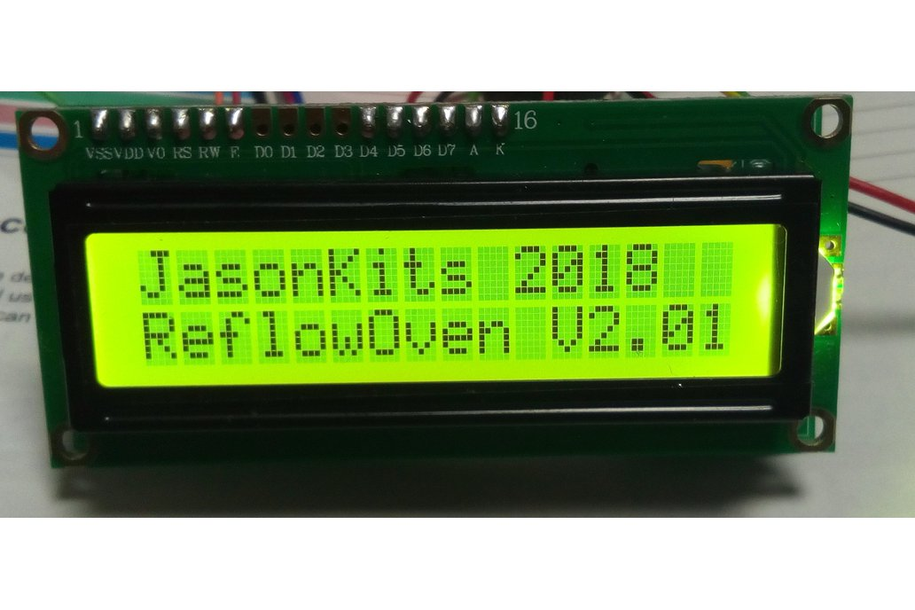 Reflow Oven Controller Universal Board Ver 2.01 1