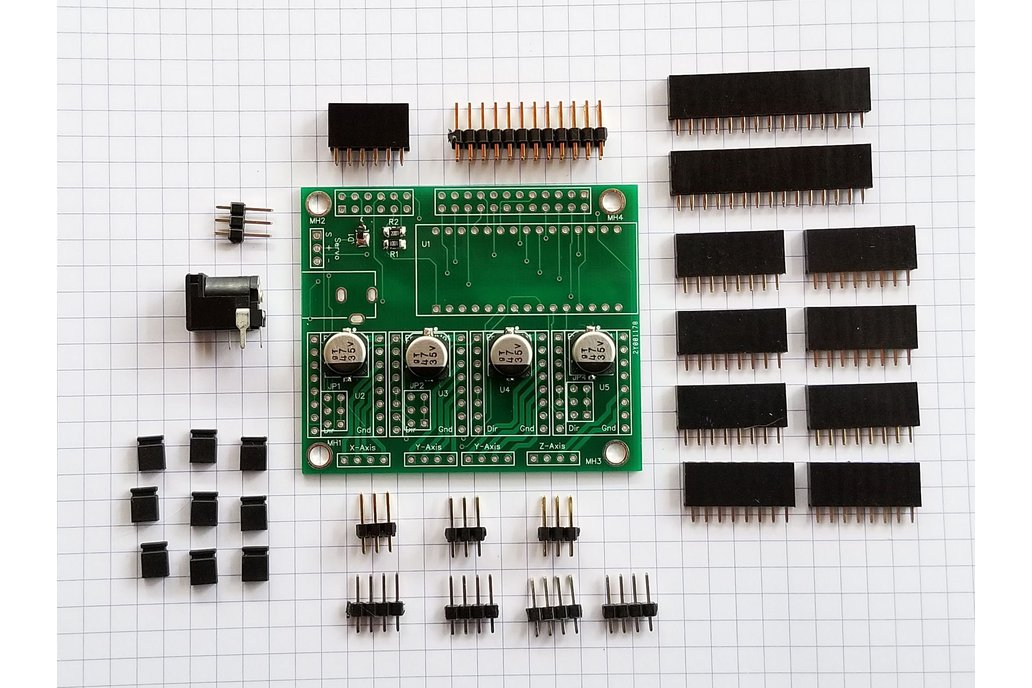 CNC Controller for Grbl and Raspberry Pi - Kit 1