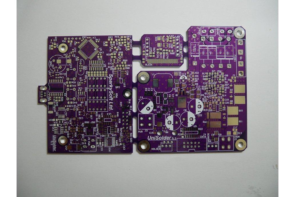 UniSolder 5.2 DIY PCB Universal soldering station 1