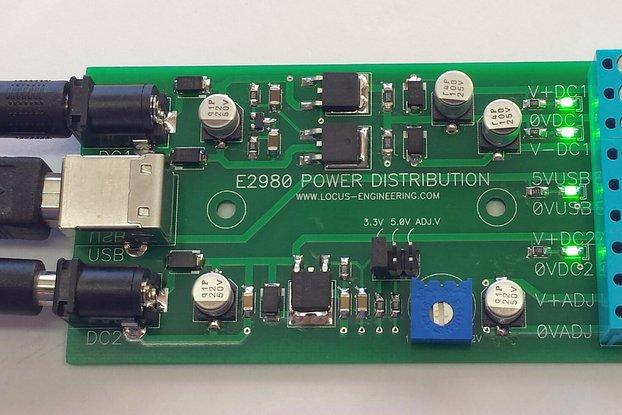 E2980 Power Distribution Board