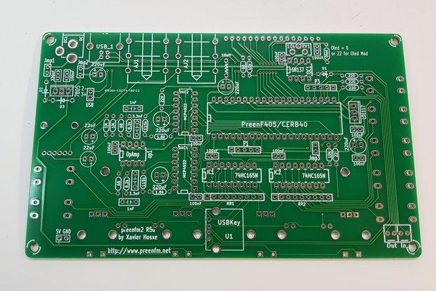 Preen FM2 - PCB