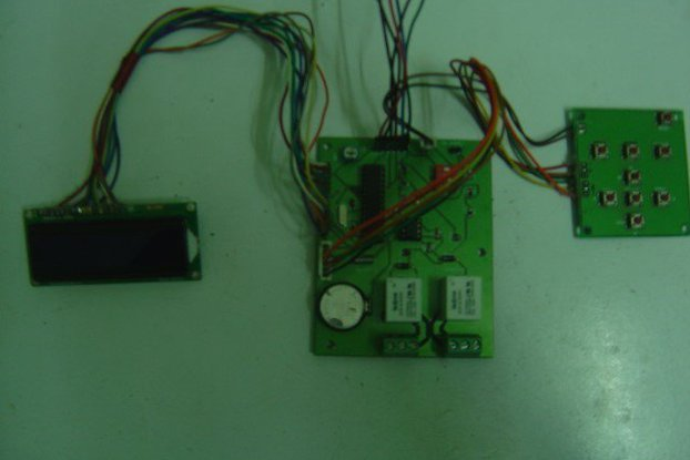 Arduino based Power Relay Timer.