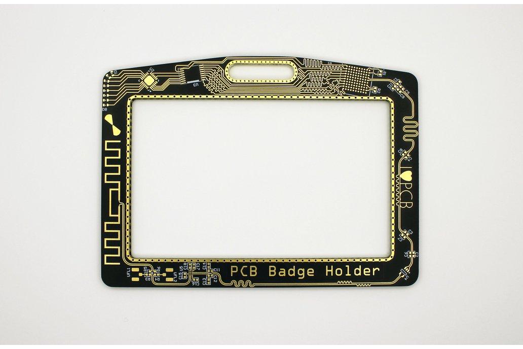 PCB Badge Holder 1