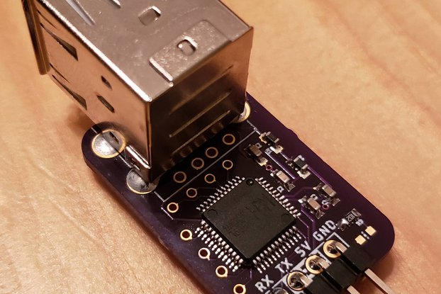 CH559 USB Host to UART Bridge Module