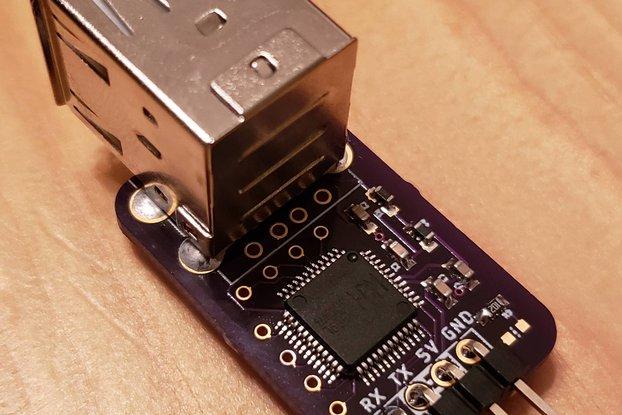 CH559 USB Host to UART Bridge Module