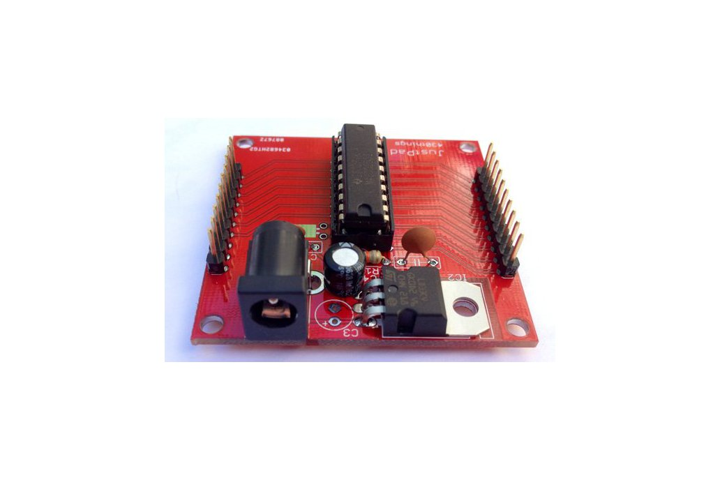 JustPad - MSP430 carrier board 1